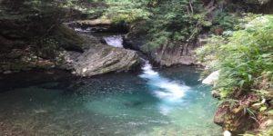 河津七滝の滝の景色