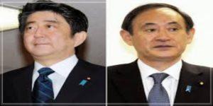 安倍首相と菅官房長官