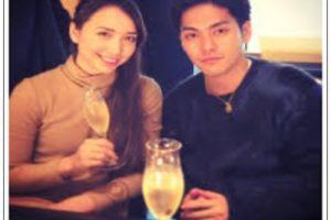 柳楽優弥と豊田エリーのツーショット写真